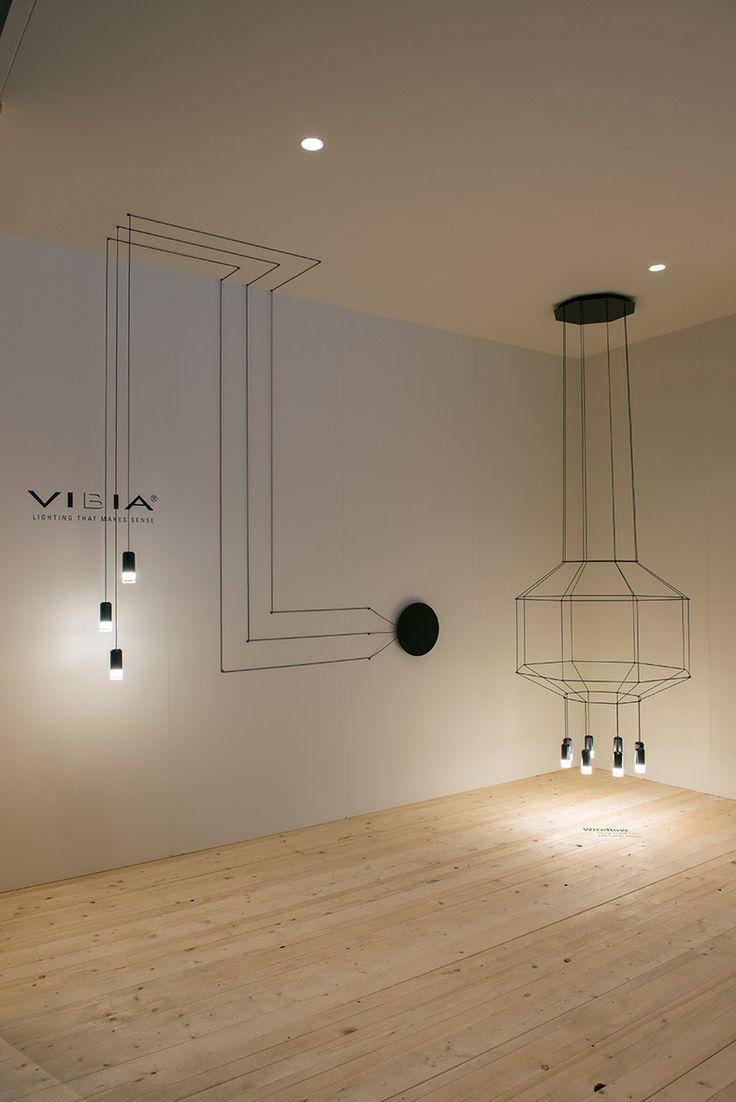 Eikelenboom bv at Design District 2014 WIREFLOW lighting collections by Arik Levy design Photographs; Ilco Kemmere — en Design District - vakevenement voor interieurdesign.