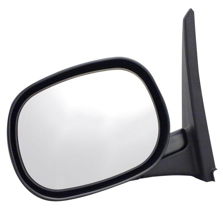 Pilot Automotive DG7709410 Dodge Van Black Manual Replacement Side Mirror (passenger side mirror)