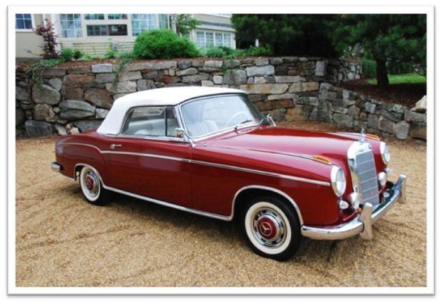 "1959 Mercedes-Benz 220SE ""Ponton"" Cabriolet"