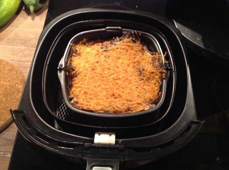 Een groentepotje met kaassausje uit de Airfryer, ingestuurd door Jansje! - http://www.airfryerweb.nl/recepten/groentepotje/