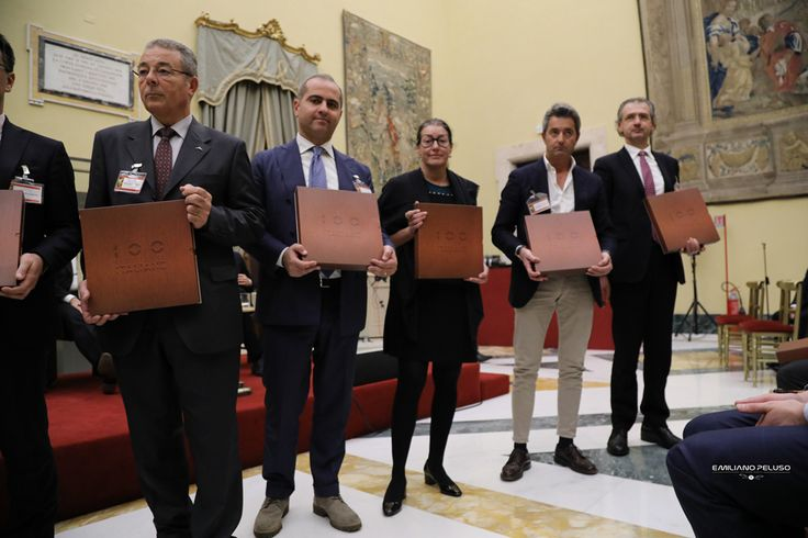 Montecitorio 1 dicembre 2016  ameryachts awarded as one of the 100 italian eccellences 2016