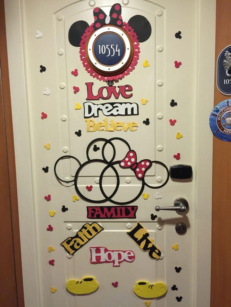 Disney Cruise Door Decoration