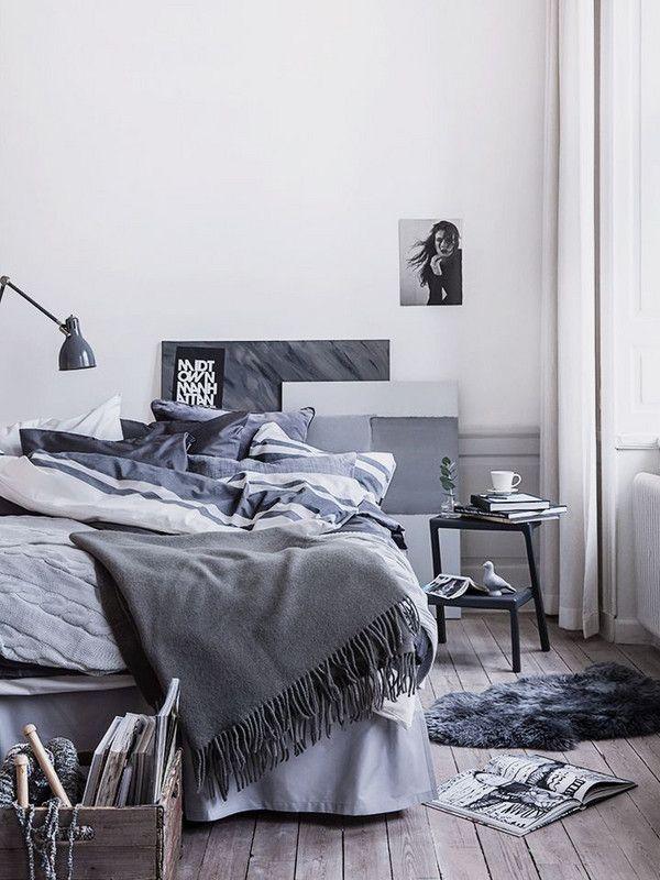 Tonal Monochrome Paint Trend Decorate Room With One Color Scandinavian Design Bedroom Bedroom Interior Bedroom Trends