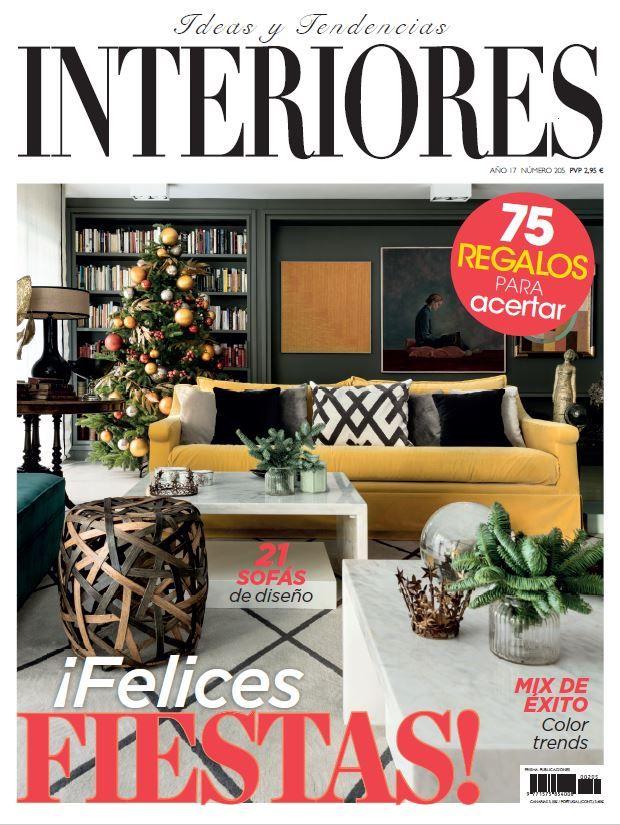 ¡Un nuevo proyecto Clysa aparece en el número de diciembre de la revista Interiores.! Estamos muy contentos con la publicación :)