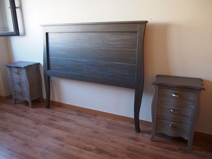 grises, las puedes encontrar en MY interiorismo Mueble pintado a mano