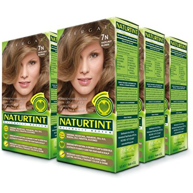 Naturtint Permanent Hair Color - 7N Hazelnut Blonde, 5.28 fl oz (6-pack) *** Want additional info? Click on the image. (This is an affiliate link and I receive a commission for the sales)