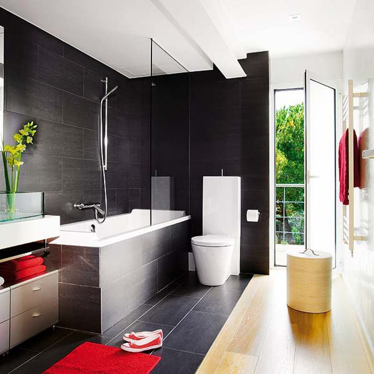 2014 Bathroom Trends Ideas For Small Bathrooms Best Design Ever Modern Black Red Interior And Color Scheme Love Thi