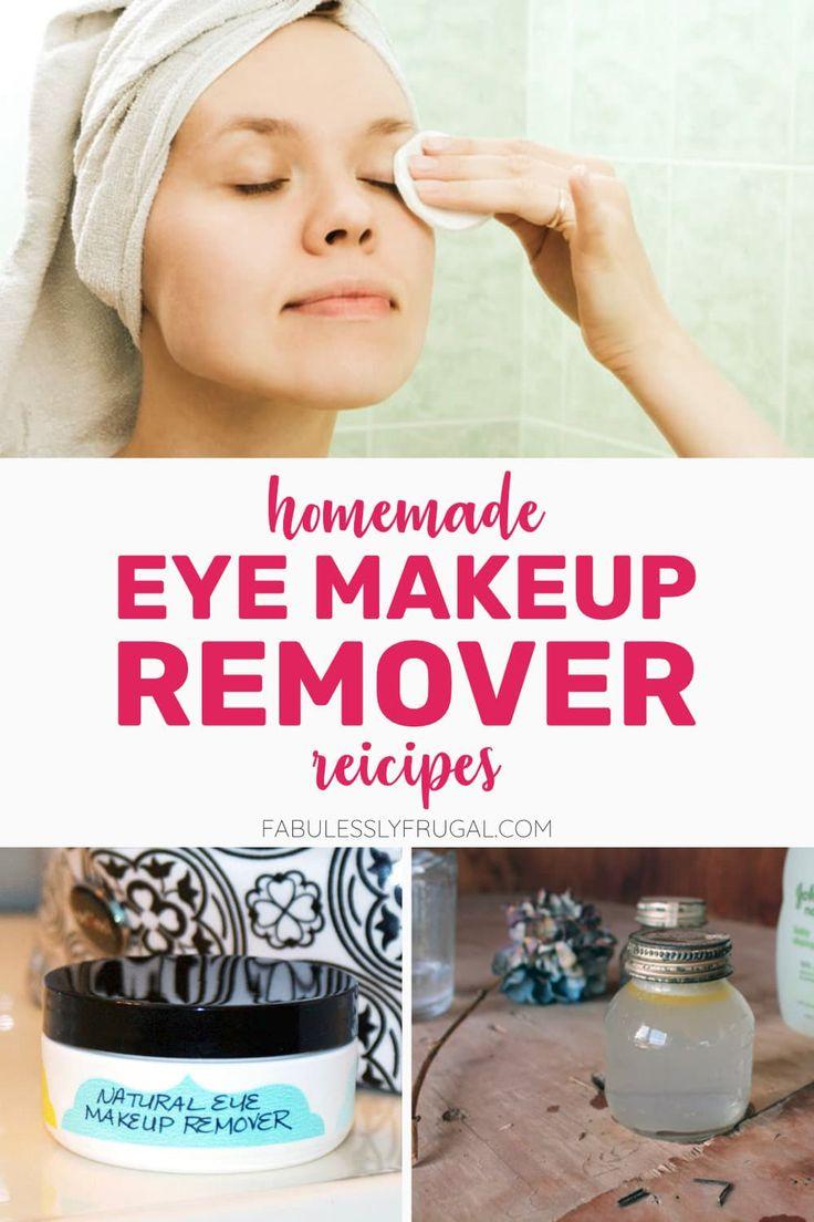 5 Easy DIY Eye Makeup Remover Recipes
