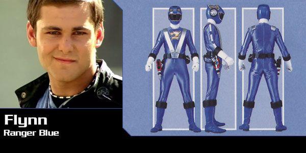 Flynn McAllistar (Ranger Blue) - Power Rangers RPM - Power Rangers ...