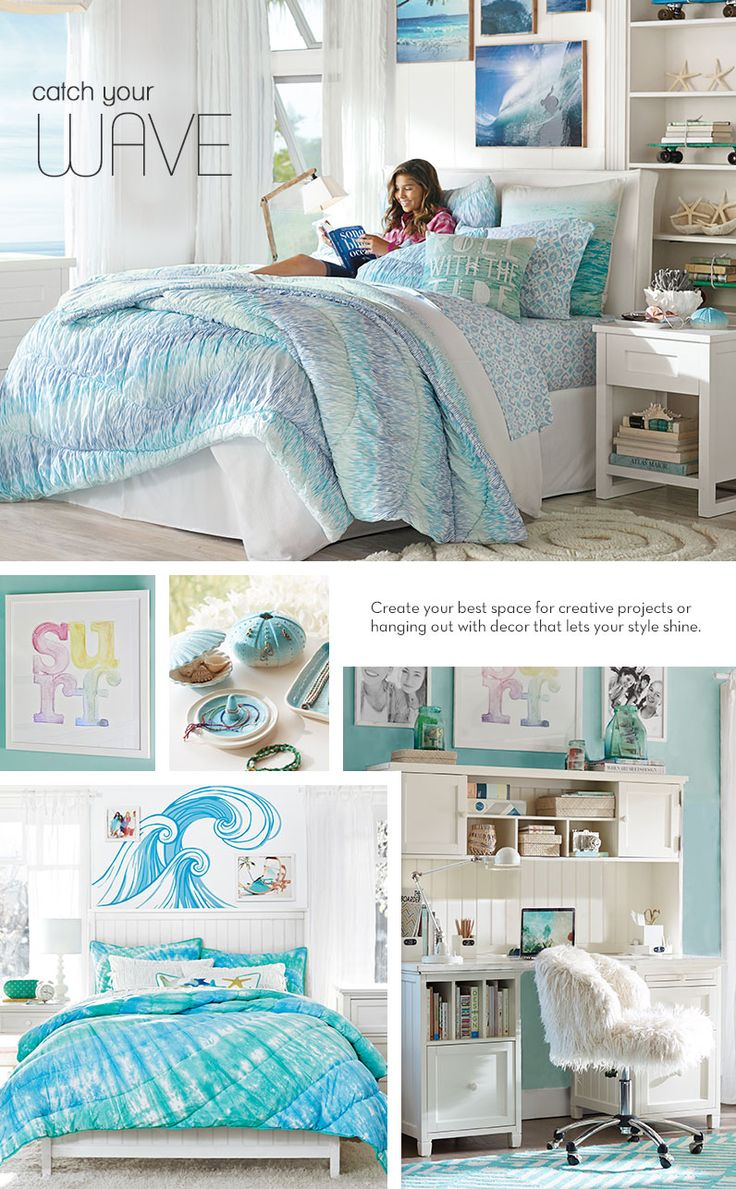Teen Ocean Themed Bedroom: 17 Best Ideas About Teen Beach Room On Pinterest