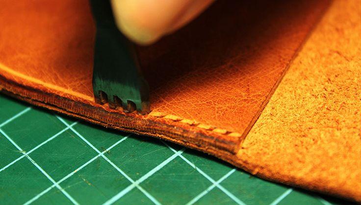 artigianato in pelle fatti a mano concetto | Handmade Leather Gifts