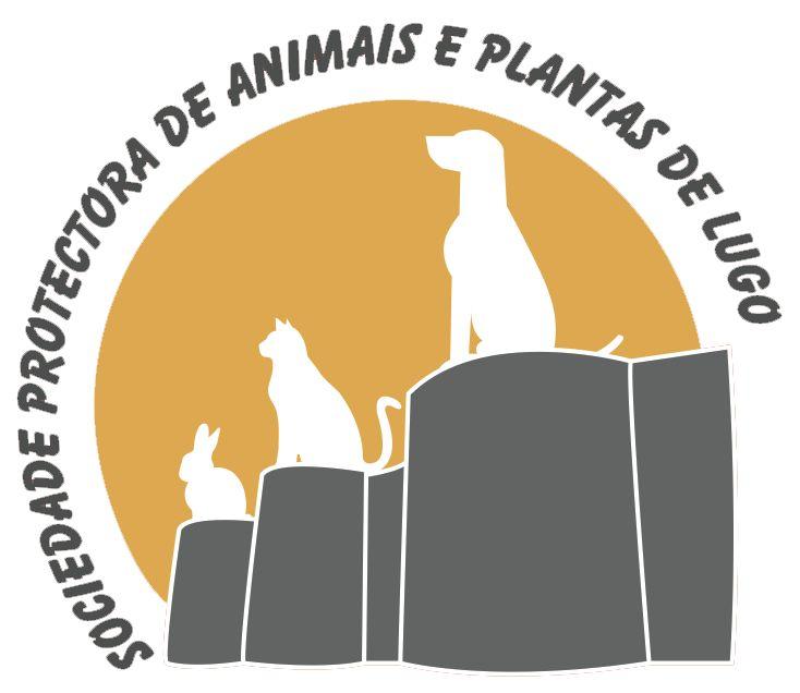 Logotipo Sociedad Protectora de Animales y Plantas de Lugo.