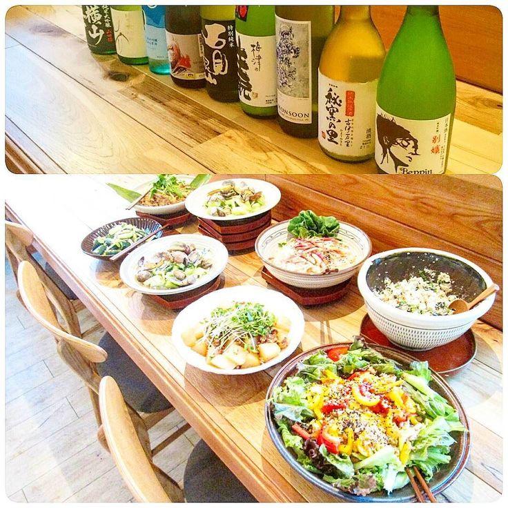 日本酒部  初めての参加でしたが  揃えられたお酒  お酒に関するレジメ  料理  どれをとっても完璧で  大変楽しむことができました  部長部員のみなさんcafevane  ありがとうございました  #酒 #日本酒 #日本酒部#部活#大人#ラベル#お米#酵母#カフェ #福岡#久留米#幸せ#石見銀山#美少年#icebreaker#cafe#cafevane #japan #sake #instagood #instafood #instalike#foodpic#dinner #happy#photo #delicious #drink#saturday #party by interstellar.1205