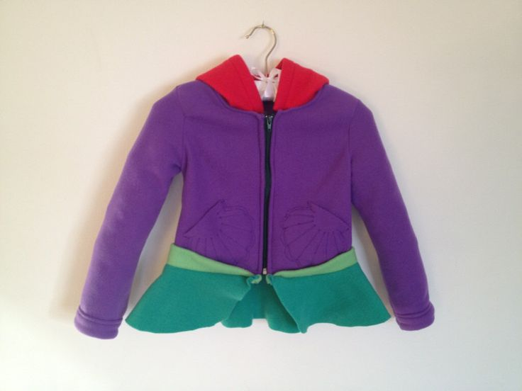 Disney Princess Little Mermaid Inspired Ariel Fleece Girls hoodie shirt by MagicPrincessWhitney on Etsy https://www.etsy.com/listing/120301712/disney-princess-little-mermaid-inspired