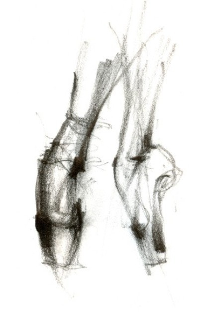 Pointe (This would be fun to draw for Megan)
