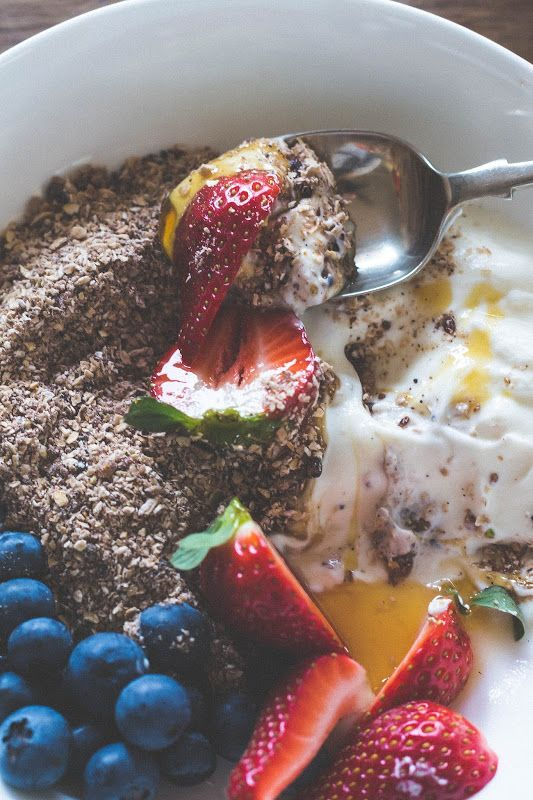 Milk and Honey: Granola Dust