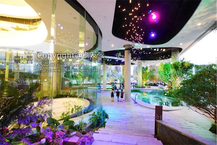 Emquartier商場上的water garden - 泰友營 - Thailandfans.com全港 No.1泰國旅遊網站   泰國自由行   Thailand Travel Guide