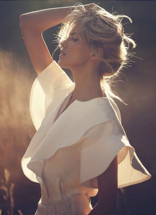 Preview | Vogue Paris November 2012  Anja Rubik by David Bellemere  Chloé | Resort 2013