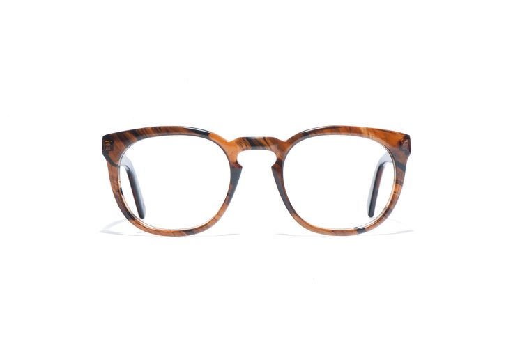 L.G.R optical Mod. CONGO havana brown