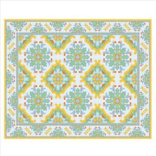 Bed room carpet vinyl floor mat pvc carpet kitchen rug hallway retro style rug ebay modern - Yellow kitchen floor mats ...