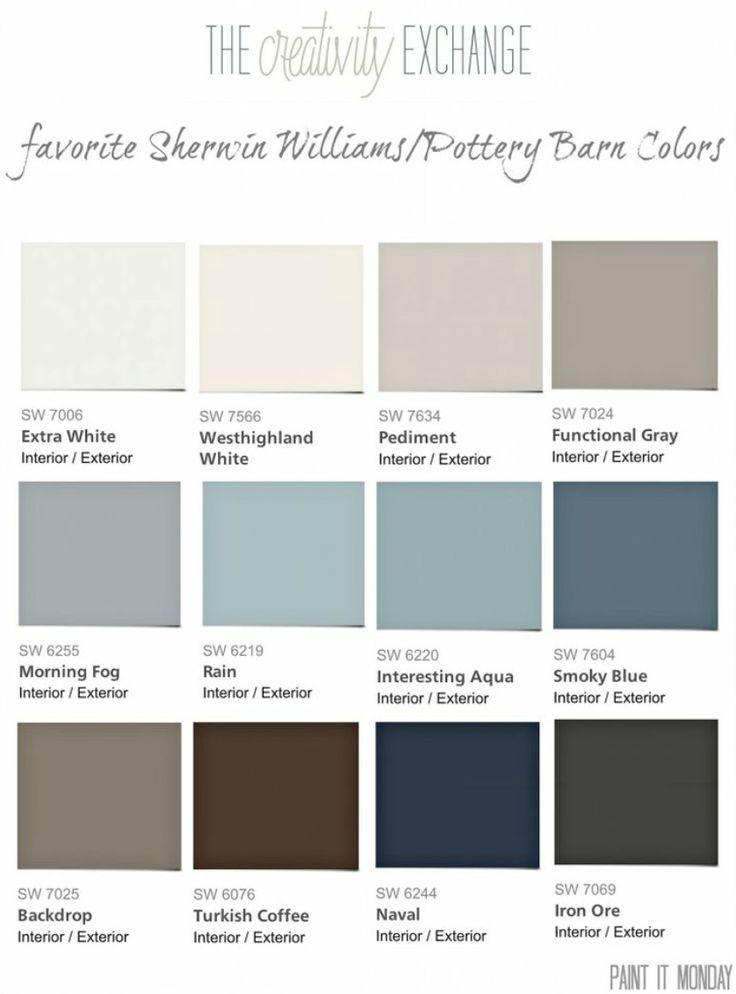 46 best pottery barn paint collection images on pinterest | wall