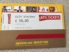 #Ticket  ATG Tickets Theatre Voucher Value 50  London West End & other Venues Ex 05/17 #deals_uk