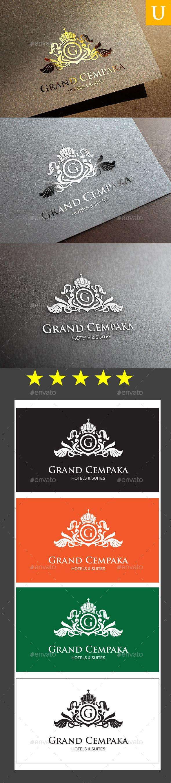 Grand Cempaka Logo Template #design #logotype Download: http://graphicriver.net/item/grand-cempaka-logo-templates/10448584?ref=ksioks