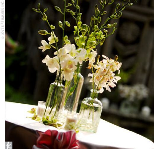 25th Wedding Anniversary Centerpiece Ideas