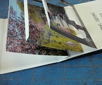 wonderful tutorial for a spring pop-up tunnel book by Alisa Golden