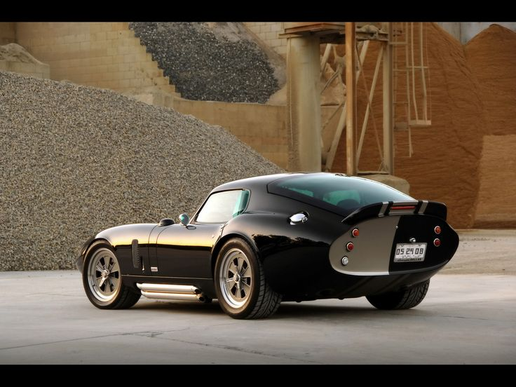 1964/65 Shelby Cobra Daytona coupe. Words fail to express the cool factor of this car