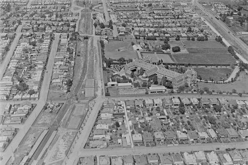 NORTHCOTE-Victoria-St-georges-Rd-Convent-etc-1928-modern-Digital-Photo-Postcard