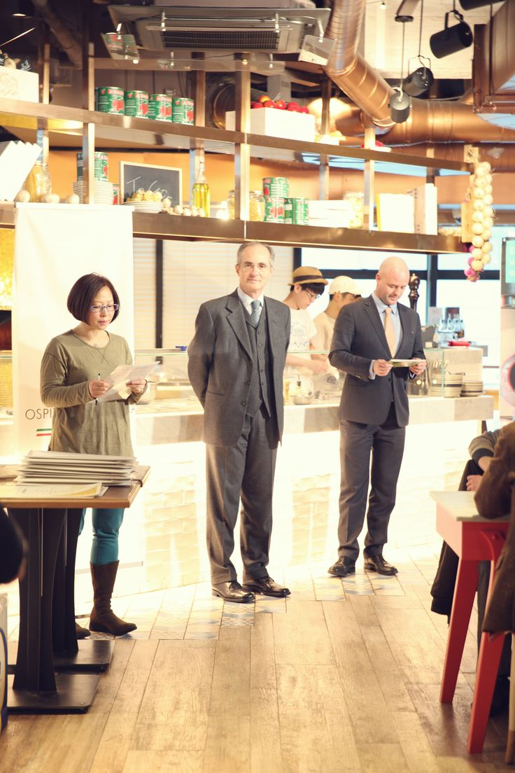 Premiazione Ristoranti Italiani nel Mondo, Seoul, gennaio 2015.