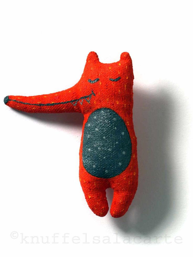 Fox brooch http://www.knuffelsalacarte.nl/broche-vos-p-16952.html