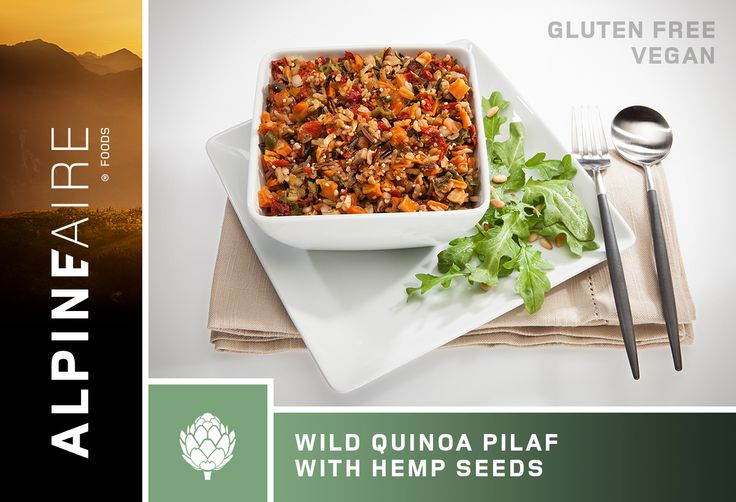 AlpineAire Wild Quinoa Pilaf with Hemp Seeds