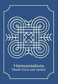 Magnet – Finnish – Good Luck Symbol | Penfield Books
