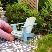 Miniature Garden Classic Adirondack Chair Kit
