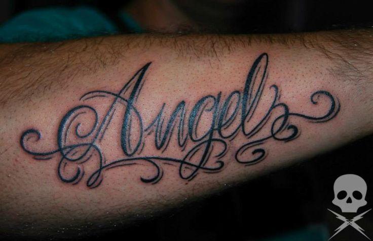 Tatuaje de letras tatuajes pinterest - Tattoo chiffre ...
