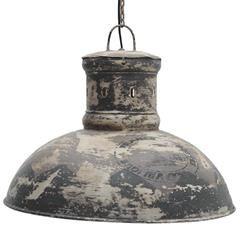 METAL CEILING LAMP IN BEIGE/BROWN COLOR 53X43/110