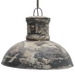 METAL CEILING LAMP IN BEIGE/BROWN COLOR 53X43/110