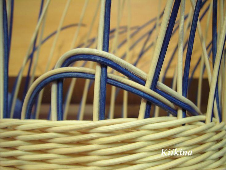Pletení z pedigu a další moje tvoření - Fotoalbum - C) NÁVODY a RADY - Tažená uzavírka - postup