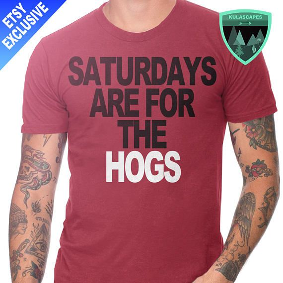 Official Saturdays are for the Hogs Shirt, Official Arkansas Razorbacks Shirt, Razorbacks Football, Arkansas Razorbacks Gift, Razorbacks
