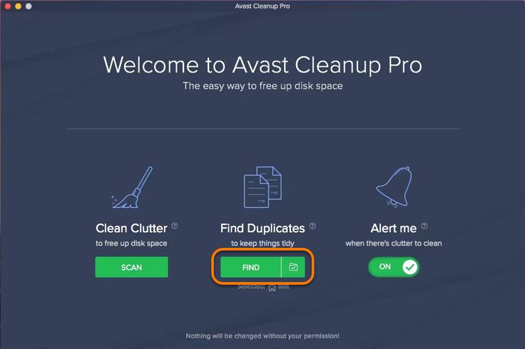 Avast Cleanup Pro Find Duplicates