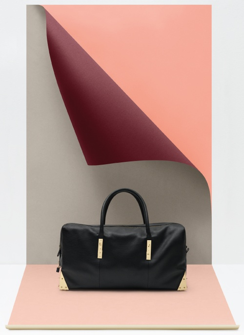 In the line of popular collaborations between designers and lower priced brands, Stine Goya has done a line for Danish Adax. Such a great color palette!