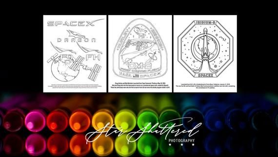 Space Coloring Pages Kids Coloring Pages Spacex Coloring Etsy Space Coloring Pages Planet Coloring Pages Coloring Pages For Kids