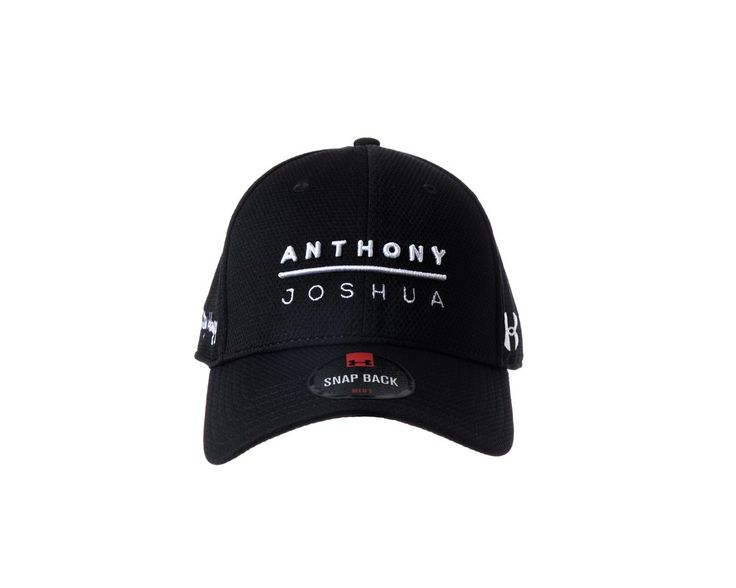 Anthony Joshua/ Under Armour:  'Stay Hungry' Snap Back Team Cap- (Black)