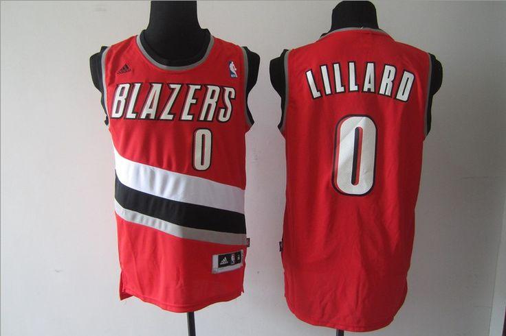Portland Trail Blazers Red Jersey