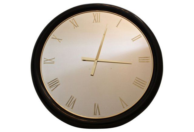 1000 Ideas About Mirror Wall Clock On Pinterest Clocks