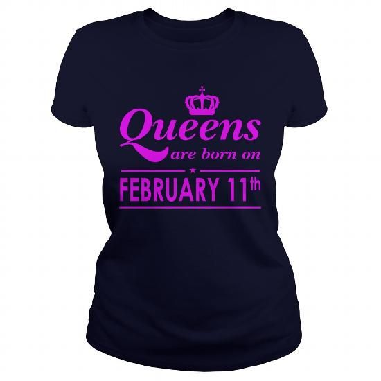 February 11 Shirt QUEENS are Born on February 11 TShirt February 11 Birthday February 11 queen born February 11 gift for birthday February 11 ladies tees Hoodie Vneck TShirt for birthday LIMITED TIME ONLY. ORDER NOW if you like, Item Not Sold Anywhere Else. Amazing for you or gift for your family members and your friends. Thank you! #queens #february