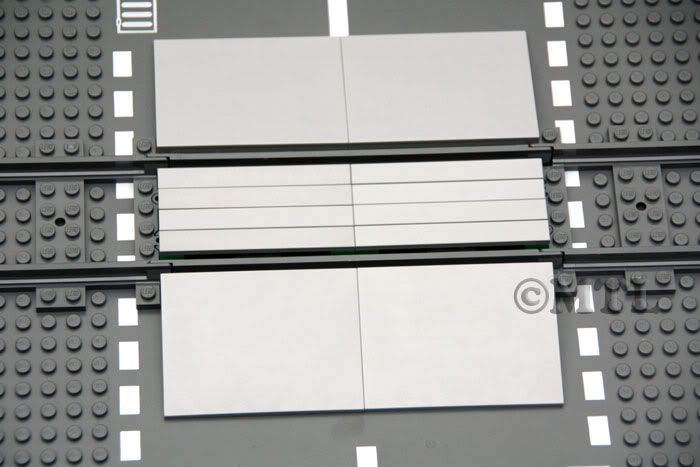 Details about Lego CITY Train Track Level Crossing Bricks 7936