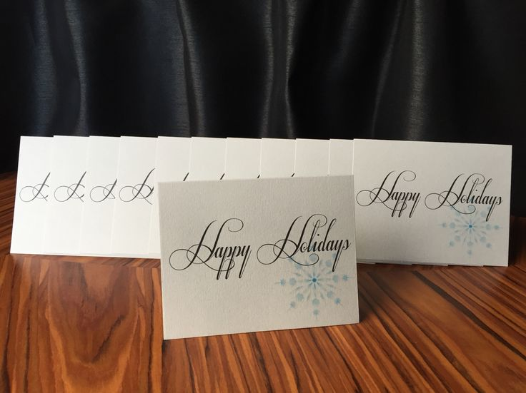 A custom holiday card order for an outstanding local renovation business.